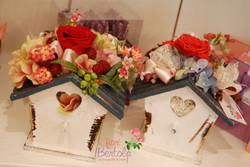 Casette con rose stabilizzate