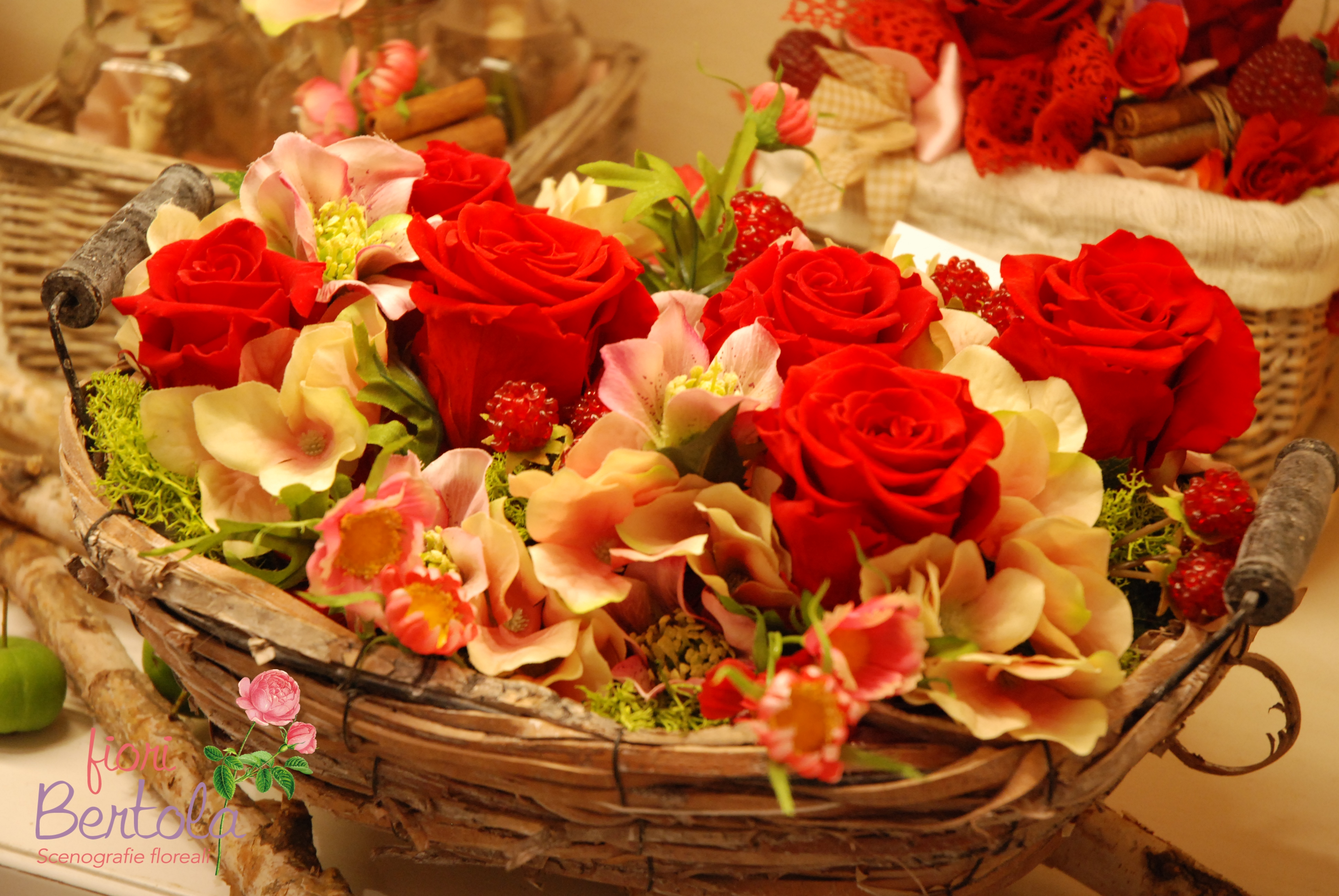 Rose stabilizzate collezione autunno