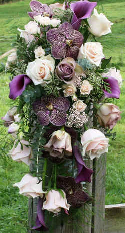 Originale bouquet da Sposa a cascata