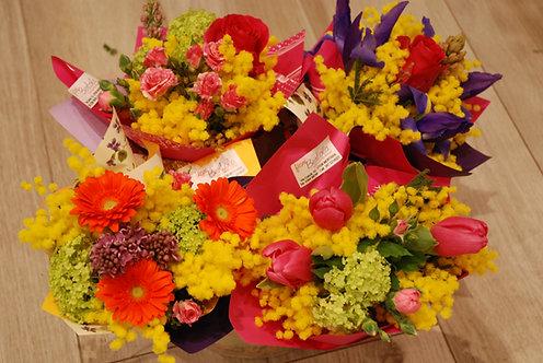 Bouquet mignon primavera (€15/25)