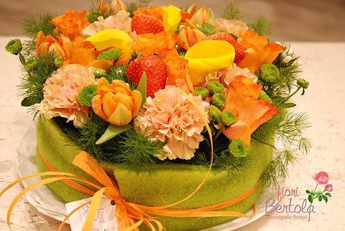 Torta floreale (€48/73)