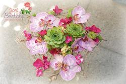 Bouquet in stile moderno particolare