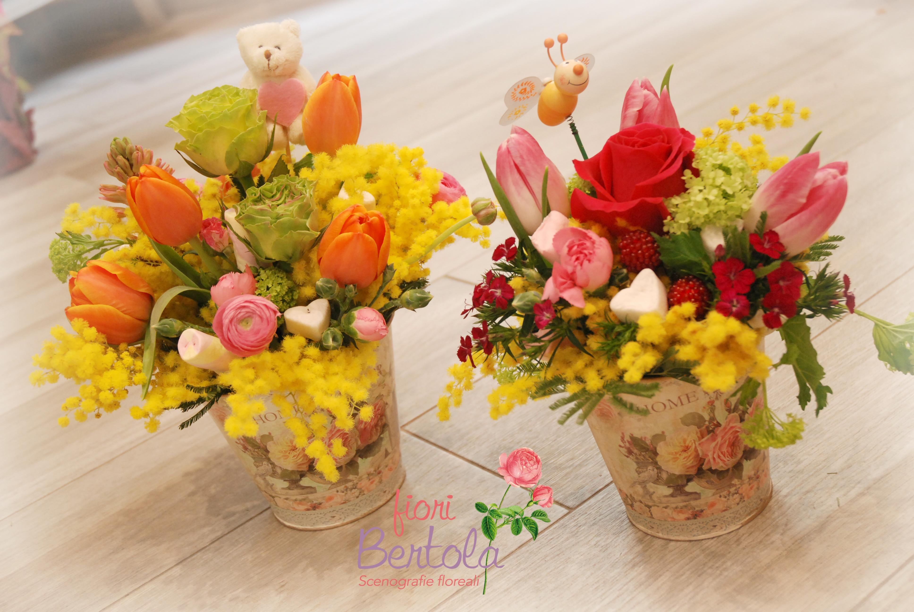consegna fiori mortara festa donna