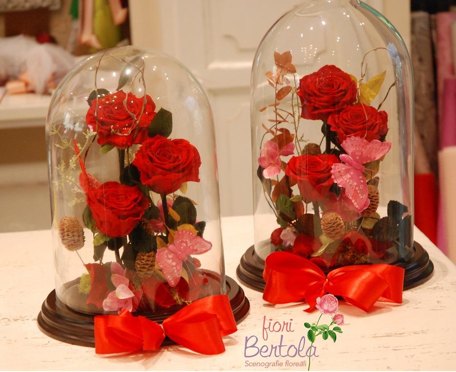 rosa incantata bella e la bestia