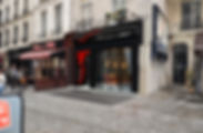 réfection vitrine, façade, architecte, paris, slybar, architecte bar club