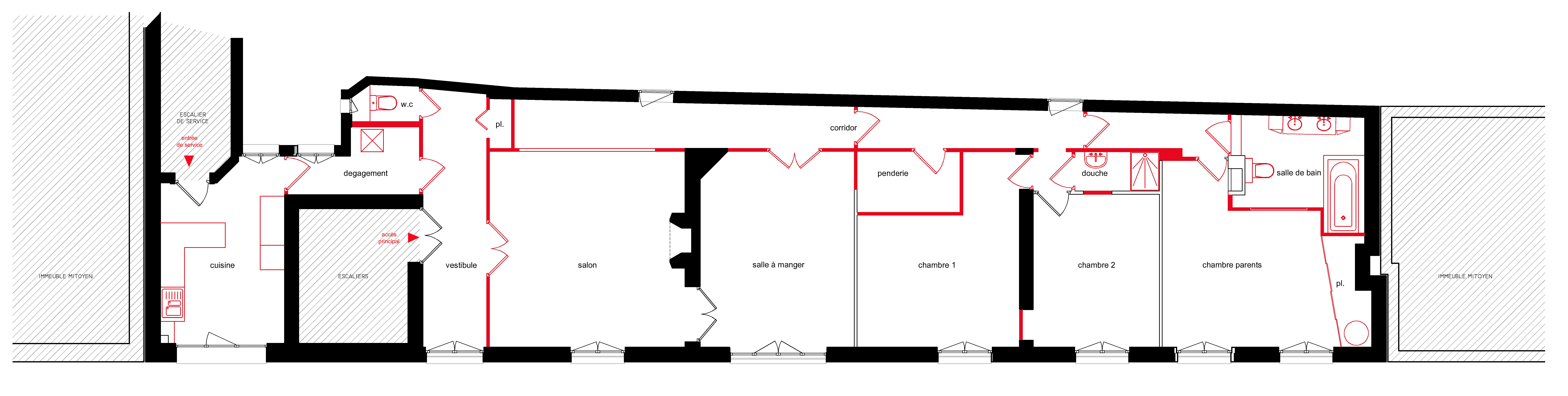 officine TNT ARCHITECTURE | Architecte DPLG | Paris | plan de l ...