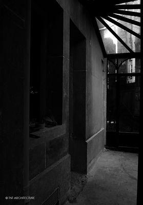 Rénovation villa boulogne 92, verrière acier verre