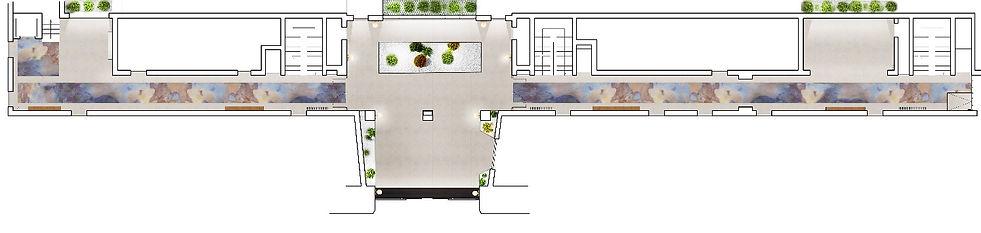 tnt architecture, plan intérieur rénovation copropriété, espaces communs, syndic, achitecte, paris 15, architecture d'intérieur