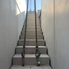 escalier beton bureaux