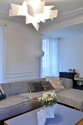 aménagement séjour, rénovation appartement haussmannien 150m2 75016, paris, architecte paris, architecte dplg paris, architecture d'interieur paris, TNT Architecture