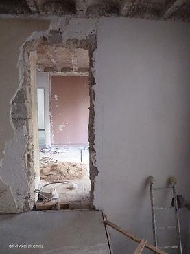 Rénovation villa boulogne 92, travaux, projet, architecte, architecte dplg
