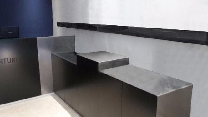 mobilier sur mesure design TNT Architecture Architecte paris boutique aventurine aix-en-provence