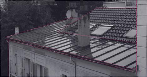 photo toiture existante projet surélévation maison boulogne par TNT Architecture