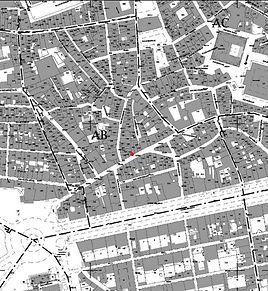 cadastre aix-en-provence centre ville rue Espariat boutique Aventurine rénovée par TNT Architecture architecte designer  paris