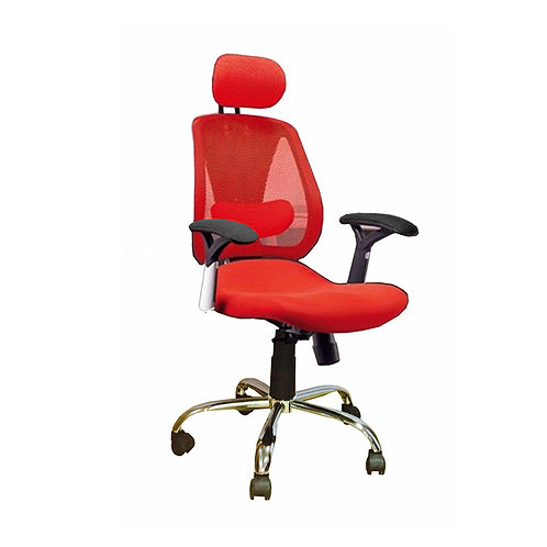 Mesh Office Chair 027-A Red