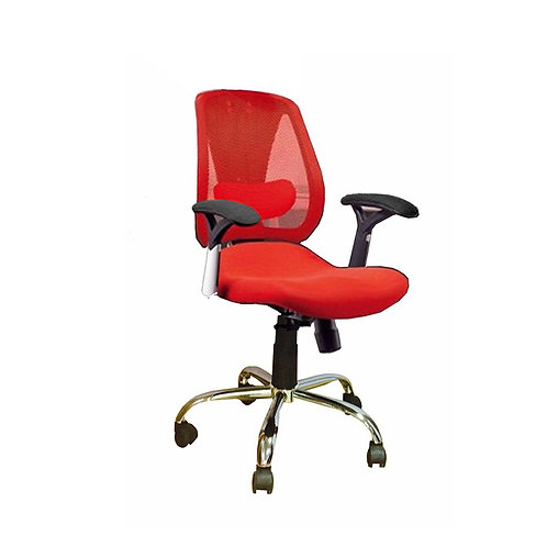 Mesh Office Chair 027-B Red