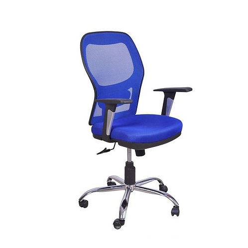 Mesh Office Chair 402-B Blue