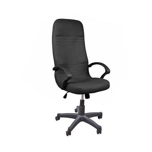 Nova Leather Office Chair 112A - Black