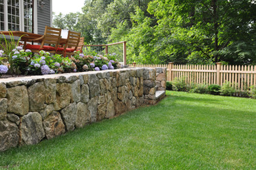 Indresano Landscaping Wall