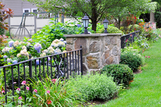 Indresano Landscaping Fence