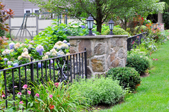 Indresano Landscaping Fence