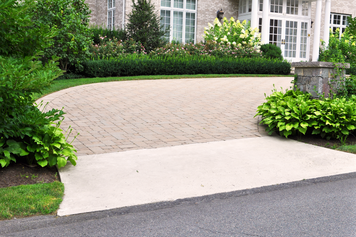 Indresano Landscaping Pavers Driveway