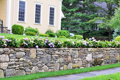 Indresano Landscaping Stone Wall