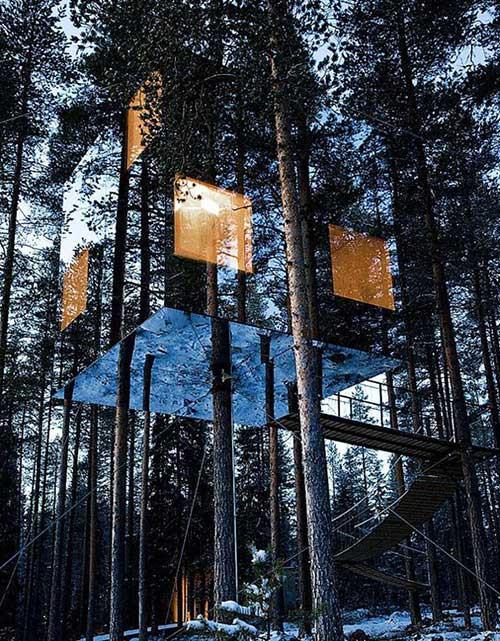 Le case sugli alberi
