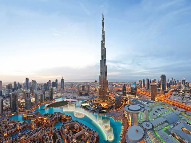 Il grattacielo più alto del mondo.