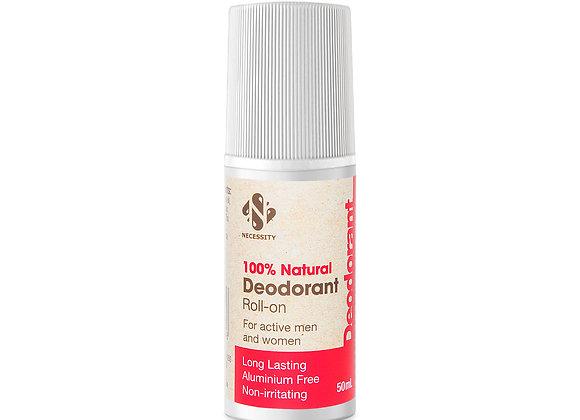 Necessity 100% Natural Deodorant Roll-on 50ml