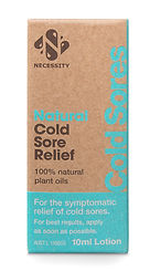 Natural Cold Sore Relief | Necessity Skin Care