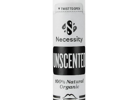 Organic Unscented Lip Balm 5g