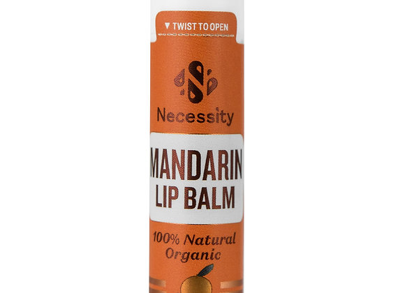 Organic Mandarin Lip Balm 5g