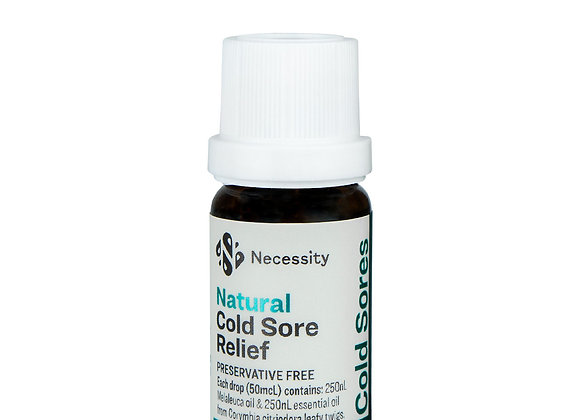 Necessity Natural Cold Sore Relief 10ml