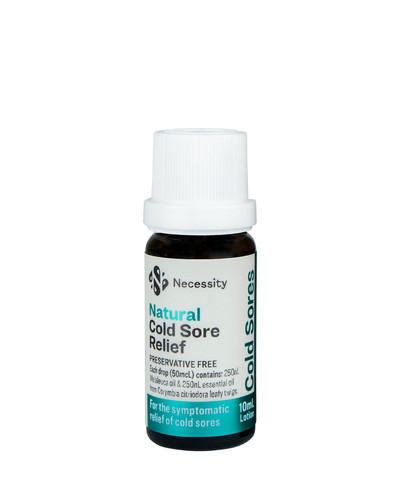 Necessity Natural Cold Sore Relief 10ml