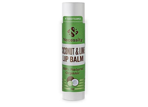 Organic Coconut & Lime Lip Balm 5g