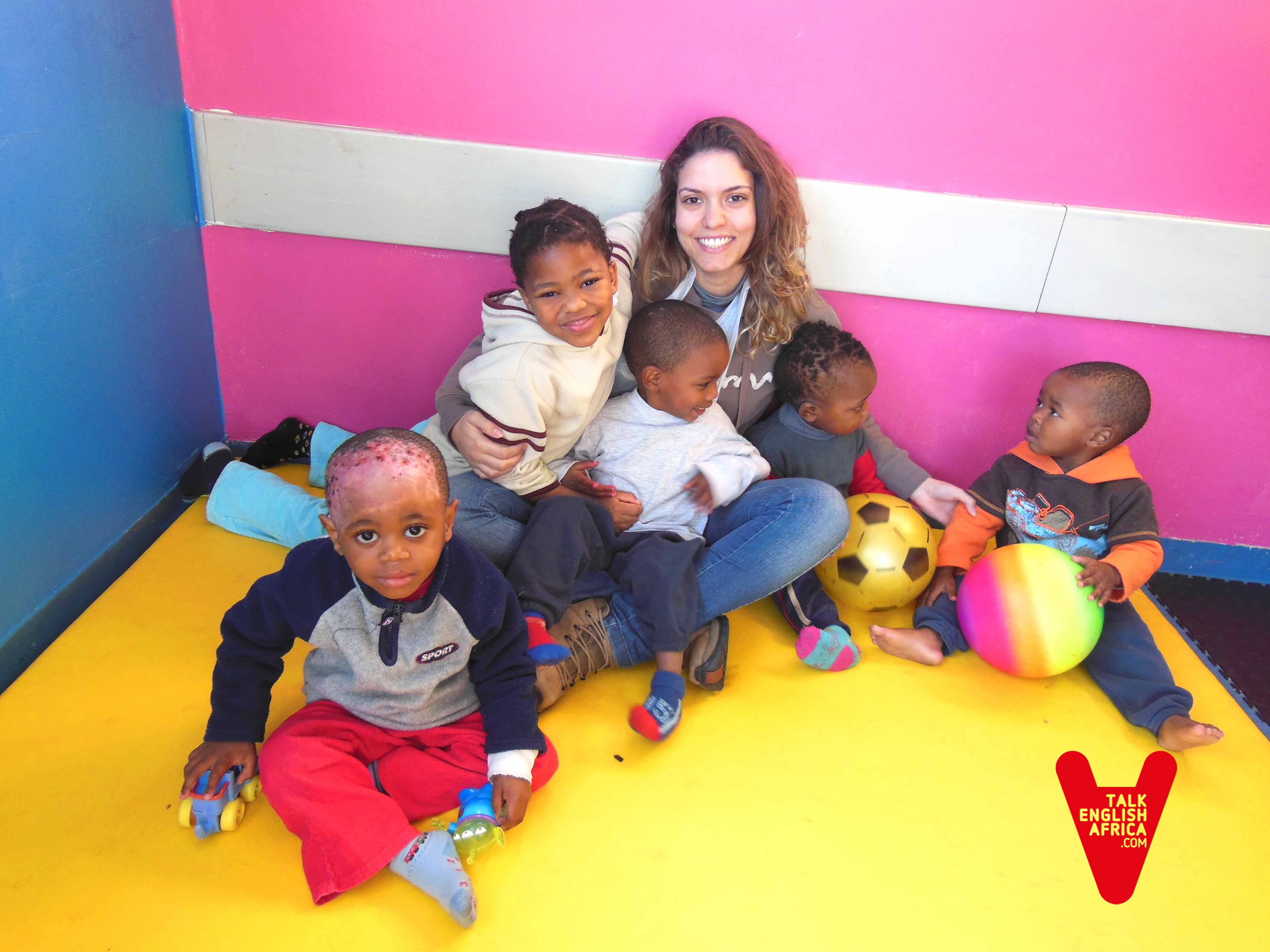 Voluntariado hospital de recuperación de niños enfermos en Ciudad del Cabo