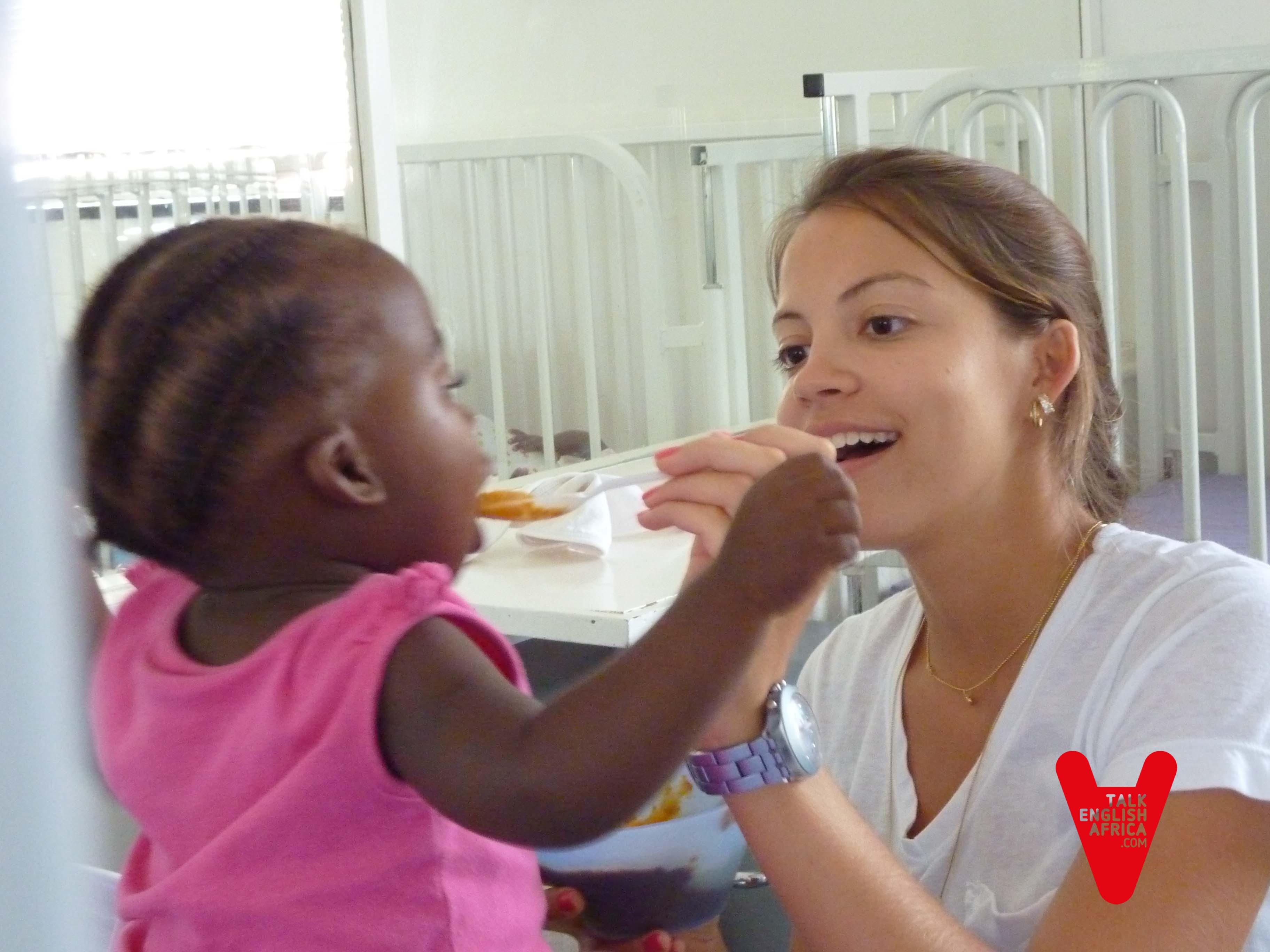 Voluntariado hospital de recuperación de niños enfermos