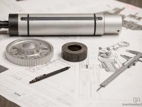 Entwicklung einer Schneidmaschine zur Konfektionierung von Haftetiketten, Folien und Papier