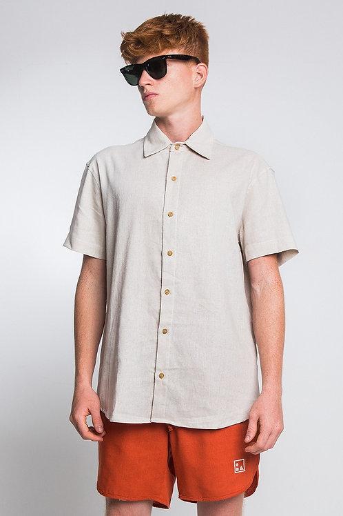 Camisa Linho Cru