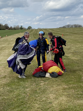 Skydiving Endorphin Kicks - Ground Level
