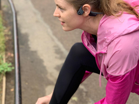 Running with headphones and staying aware!