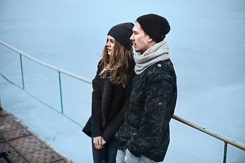 suadera hoodie black