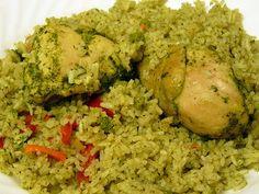 Peruvian Rice with chicken