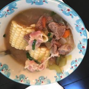 MENESTRÓN (Peruvian Minestrone Soup)