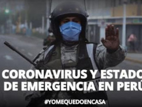 LA FORMA EN QUÉ PERÚ ENFRENTA LA SITUACIÓN/how peru is facing the virus (english translation below)