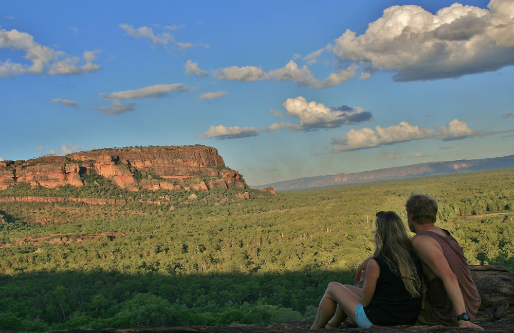 View over Ubirr Rock