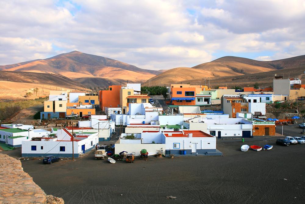 Small fishing village Ajuy, Fuerteventura