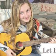 """Kyla Carter singing """"Let It Snow, Let It Snow, Let It Snow"""""""