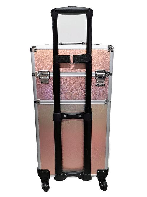 Aluminium Frame Cosmetic Luggage - 3 in 1